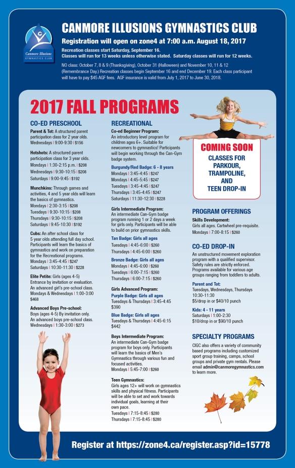 Gymnastics FAll 2017 v9